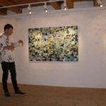 Finleif Mortensen  fortæller om sine billeder