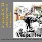 Wilja Bech fernisplakat